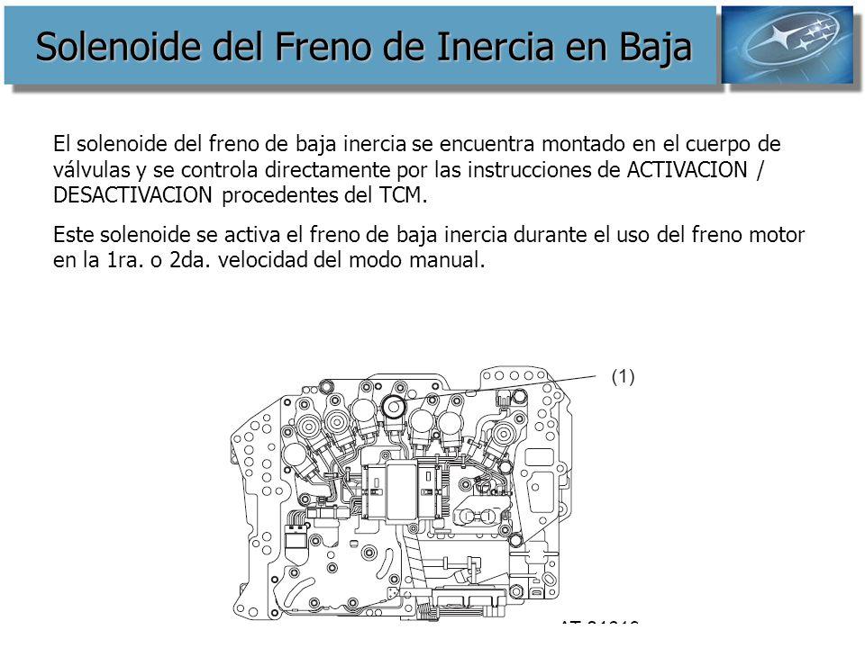Solenoide del Freno de Inercia en Baja