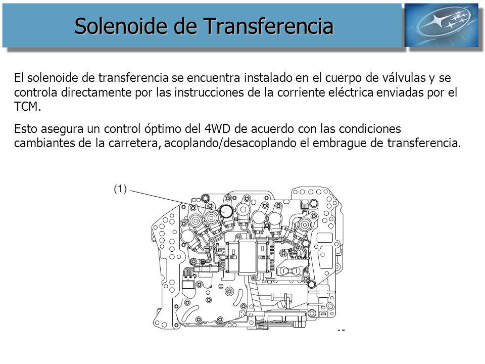 Solenoide de Transferencia