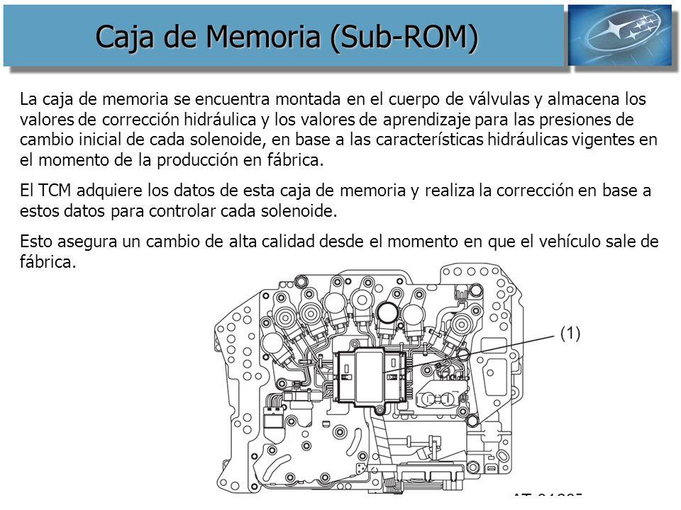 Caja de Memoria (Sub-ROM)