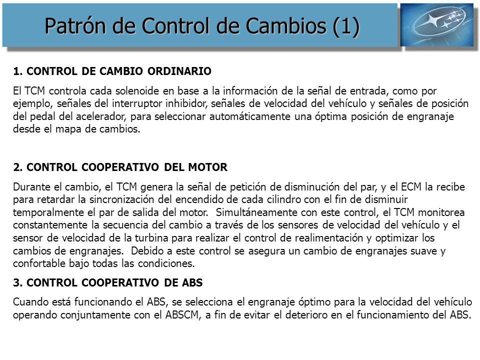 Patrón de Control de Cambios (1)