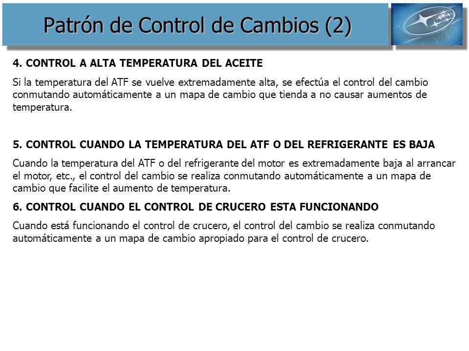 Patrón de Control de Cambios (2)
