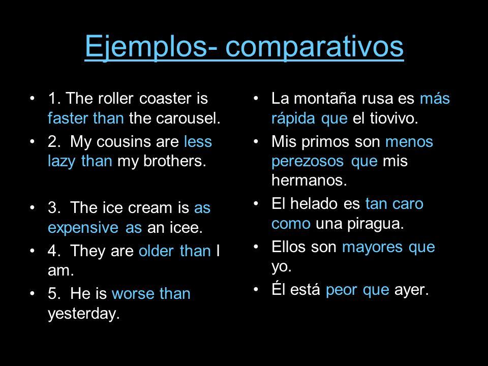 Ejemplos- comparativos
