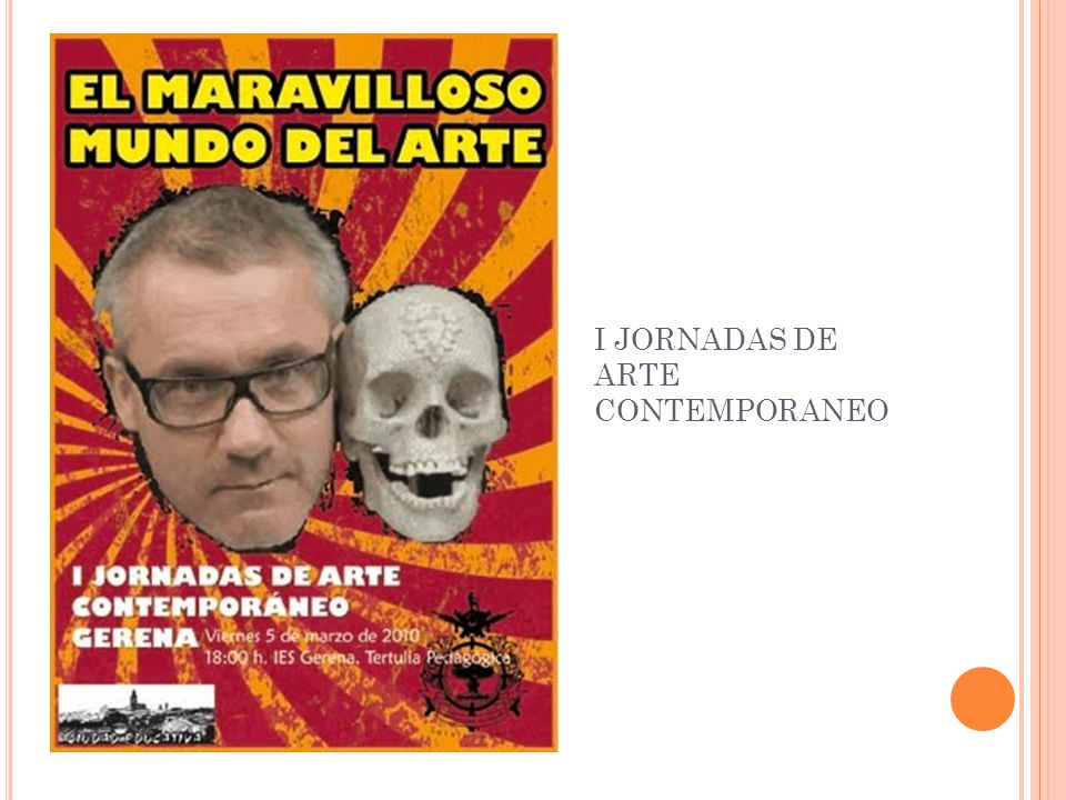 I JORNADAS DE ARTE CONTEMPORANEO