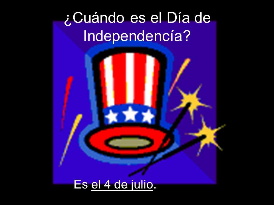 ¿Cuándo es el Día de Independencía