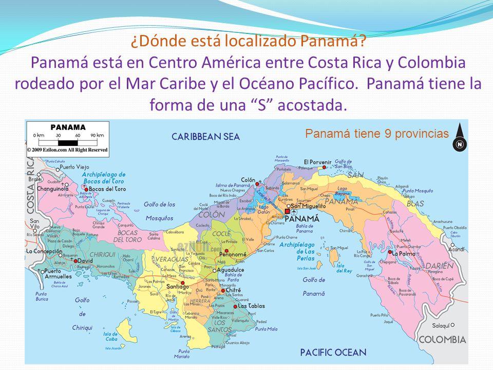 ¿Dónde está localizado Panamá