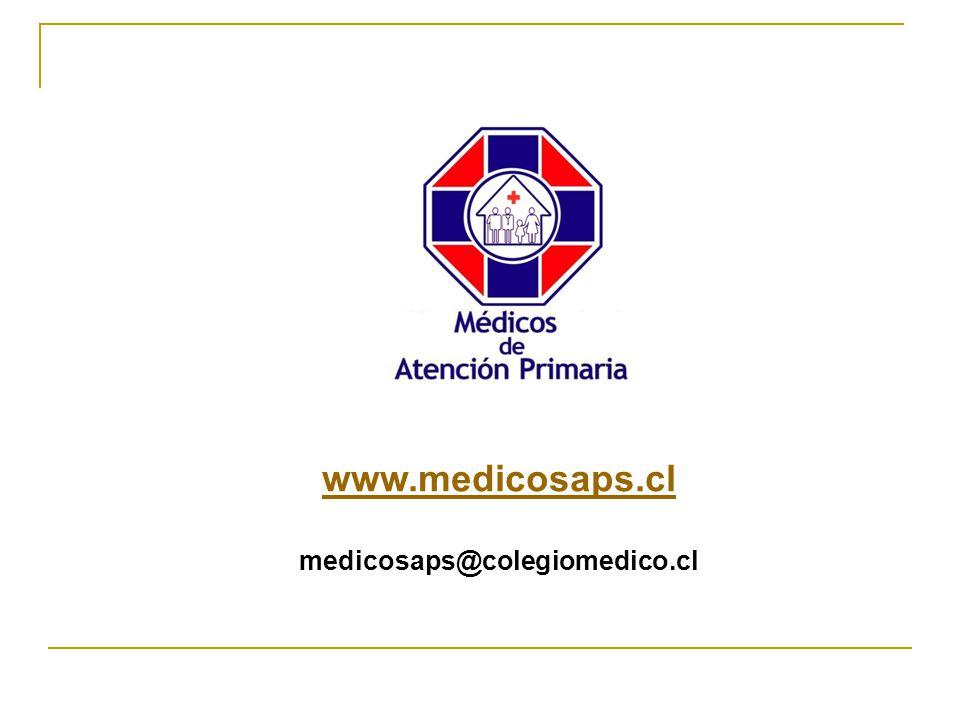 www.medicosaps.cl medicosaps@colegiomedico.cl