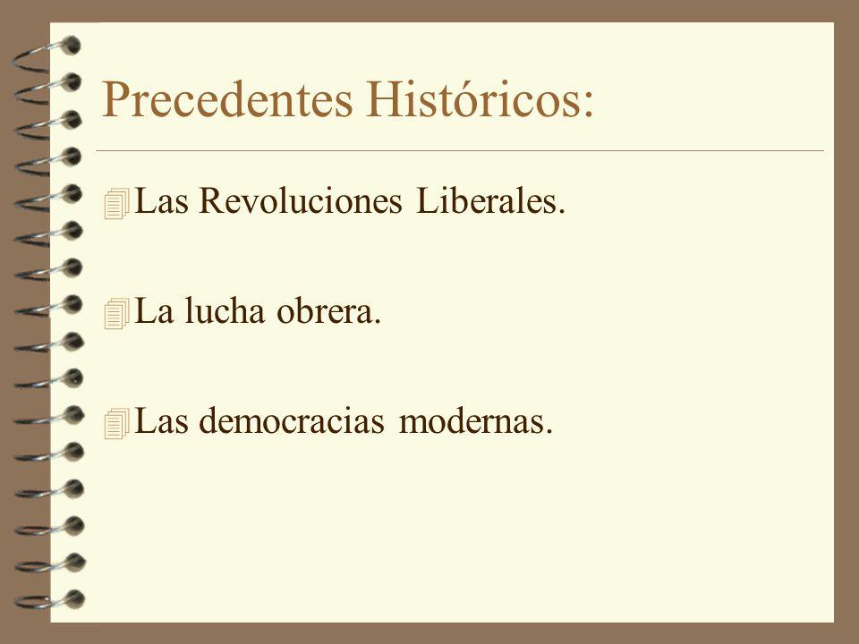 Precedentes Históricos:
