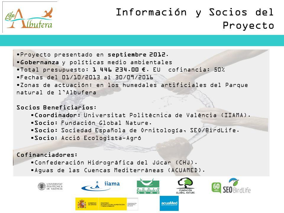 Información y Socios del Proyecto