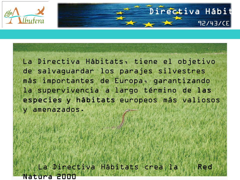 Directiva Hábitats 92/43/CEE