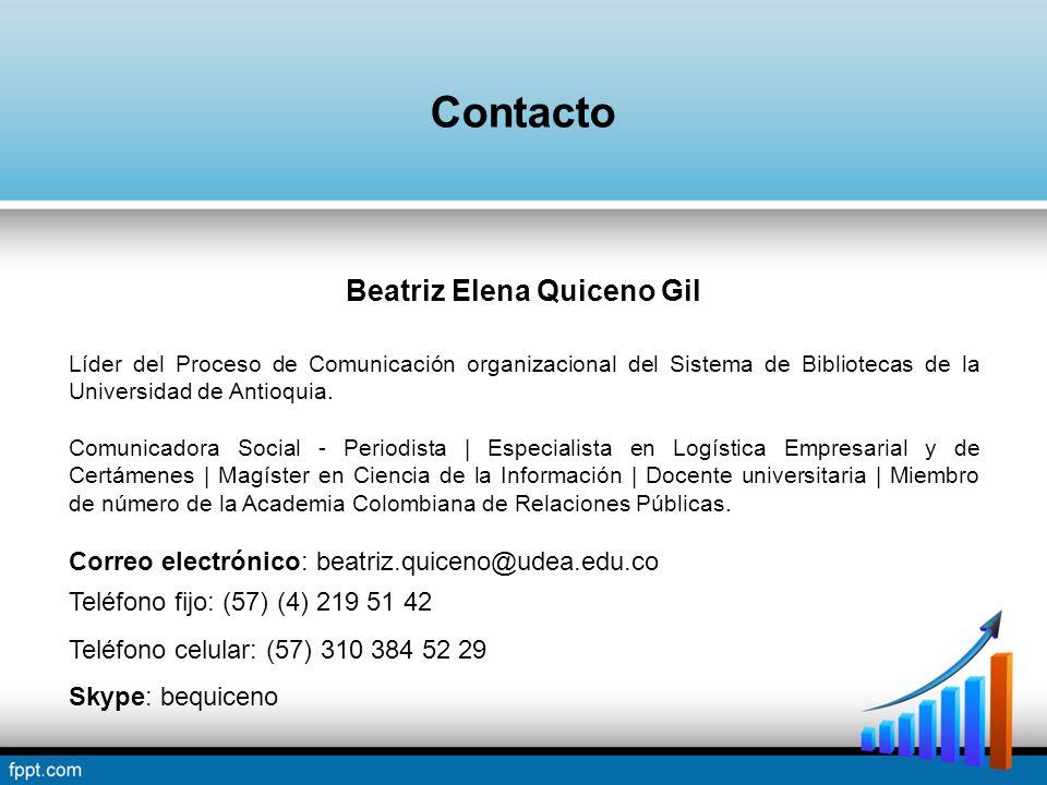Beatriz Elena Quiceno Gil