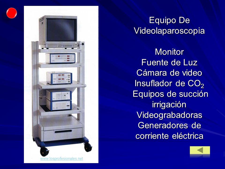 Equipo De Videolaparoscopia Monitor Fuente de Luz Cámara de video Insuflador de CO2 Equipos de succión irrigación Videograbadoras Generadores de corriente eléctrica