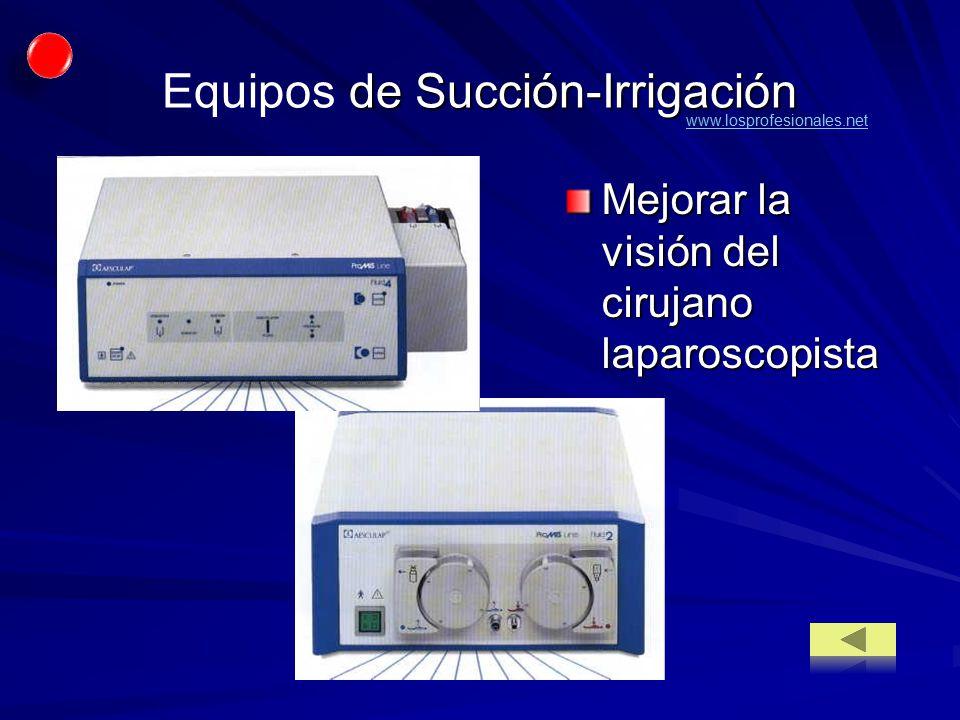 Equipos de Succión-Irrigación