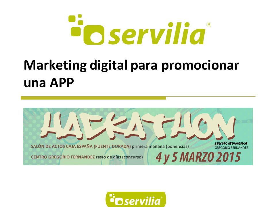Marketing digital para promocionar una APP