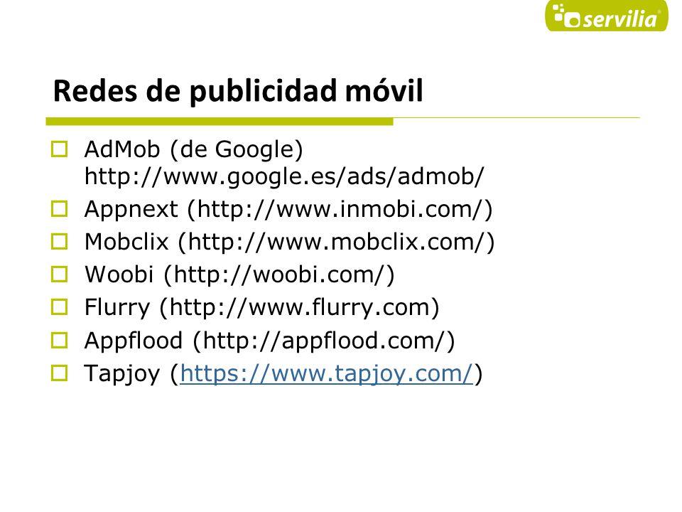Redes de publicidad móvil