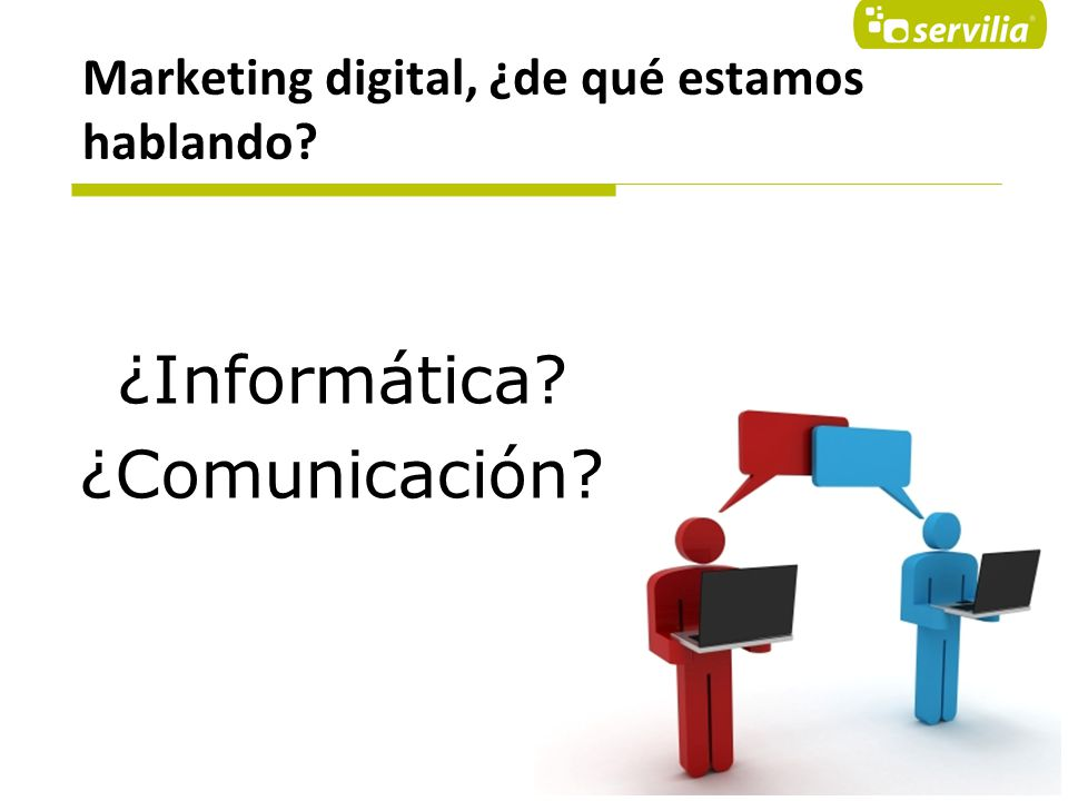 Marketing digital, ¿de qué estamos hablando