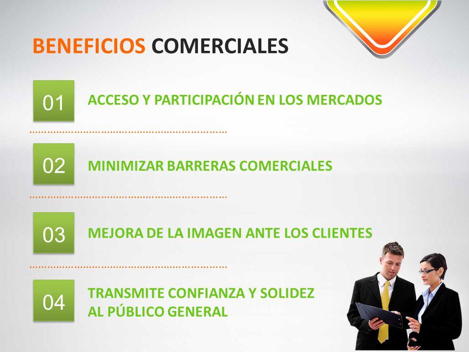 BENEFICIOS COMERCIALES