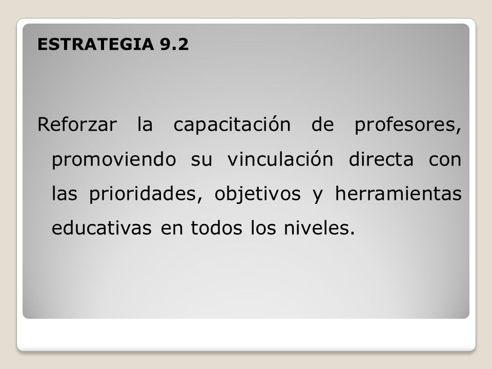 ESTRATEGIA 9.2