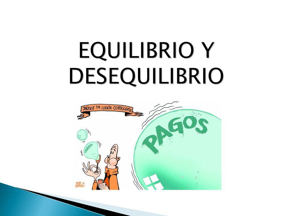 EQUILIBRIO Y DESEQUILIBRIO