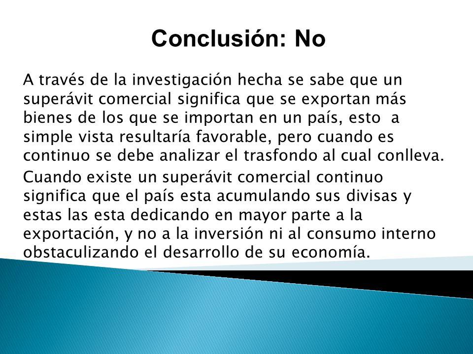 Conclusión: No