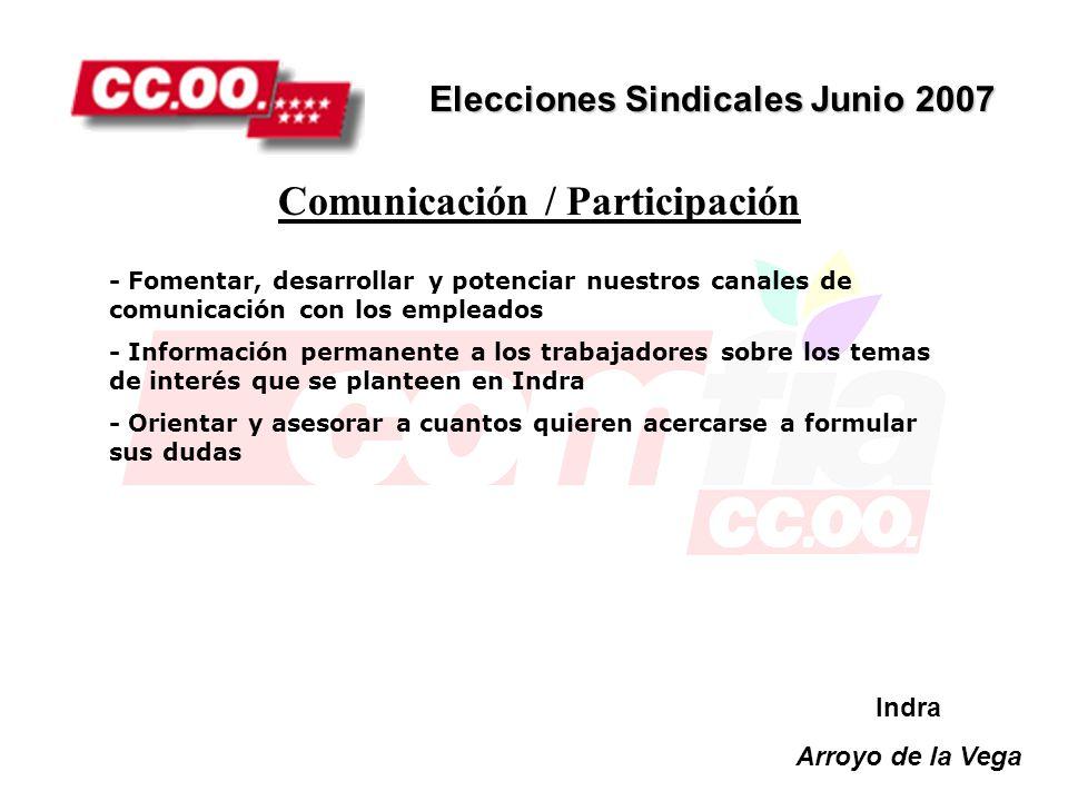 Comunicación / Participación