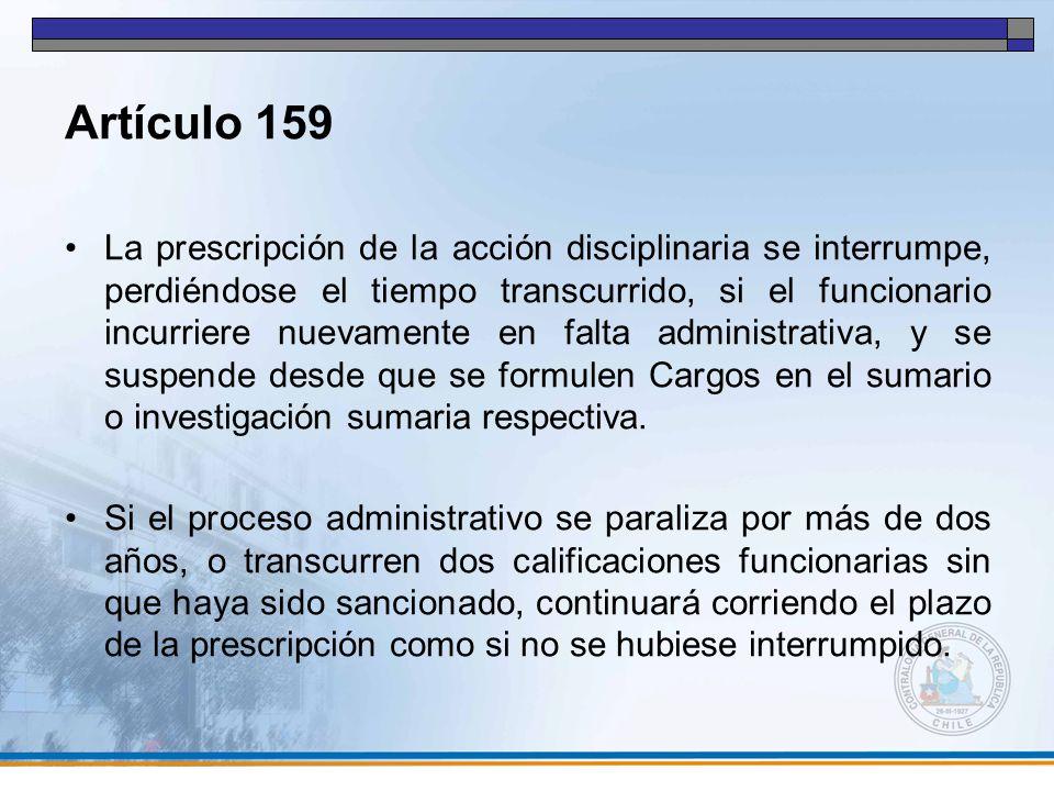 Artículo 159