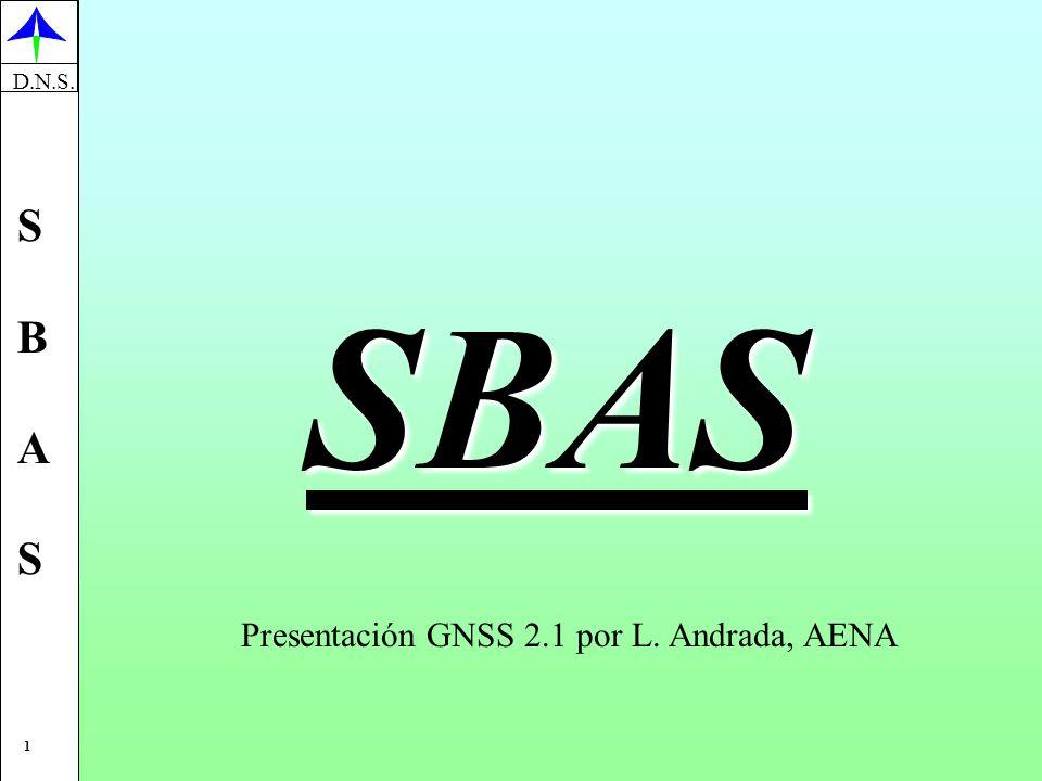 Presentación GNSS 2.1 por L. Andrada, AENA
