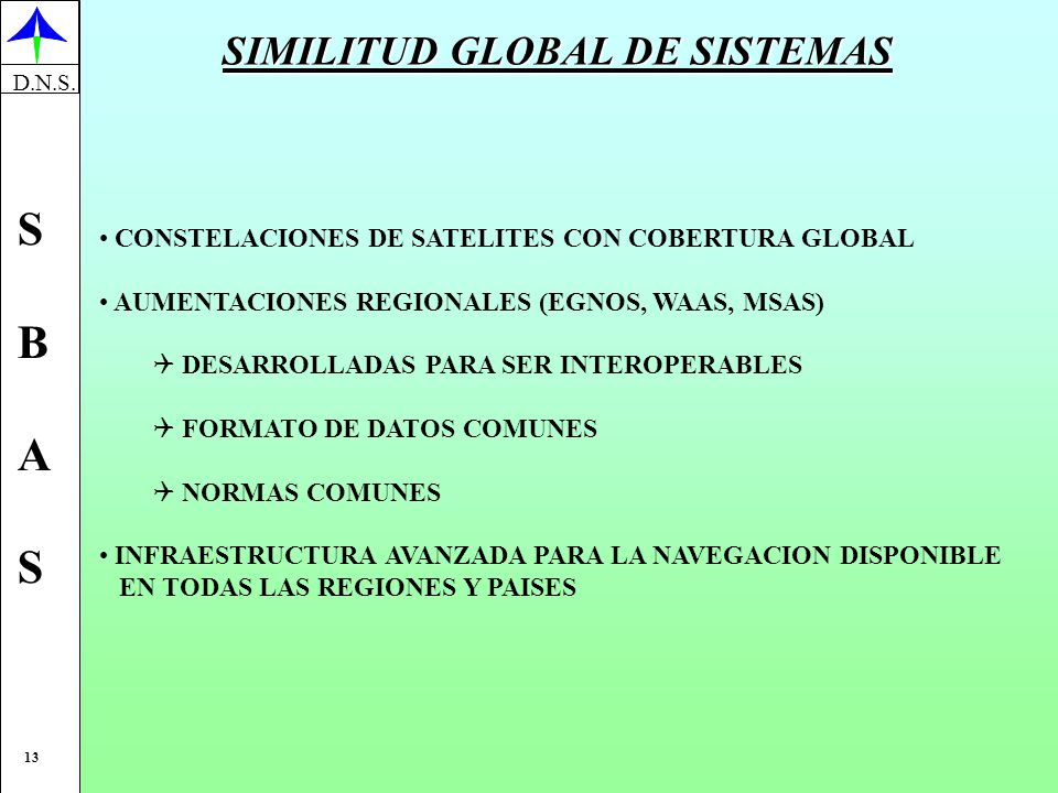 SIMILITUD GLOBAL DE SISTEMAS