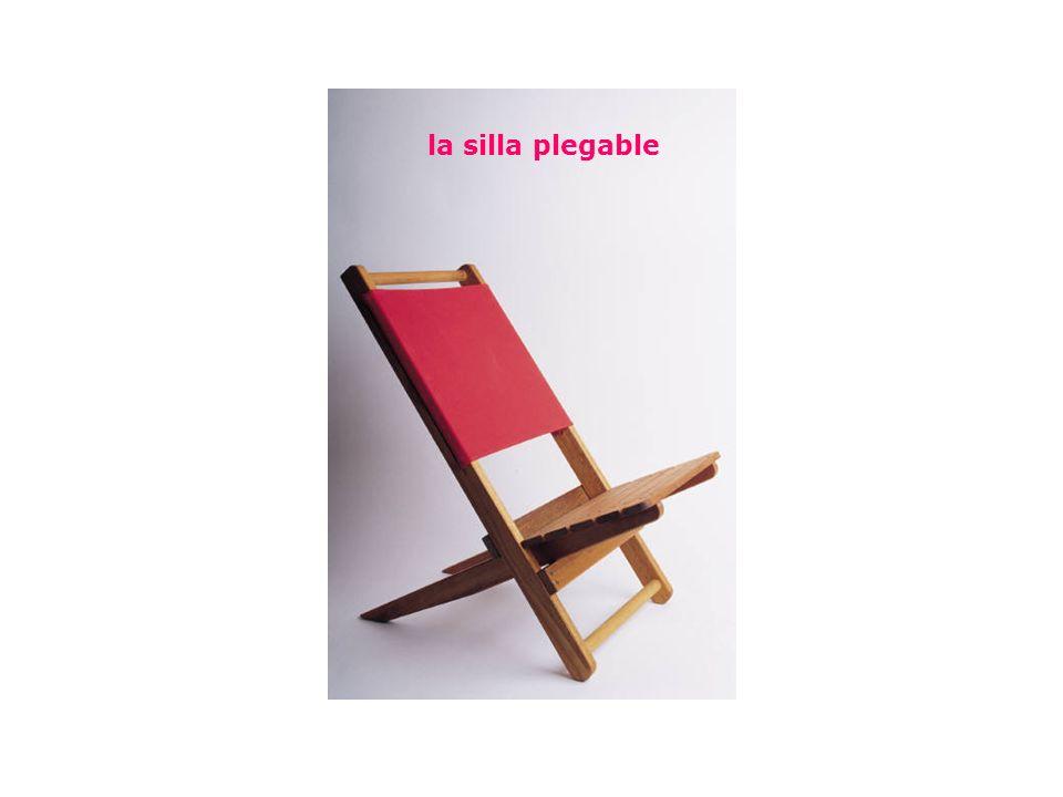 la silla plegable