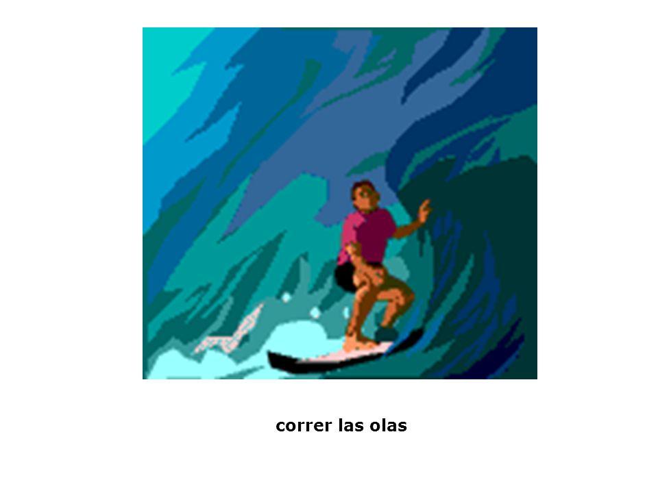 correr las olas