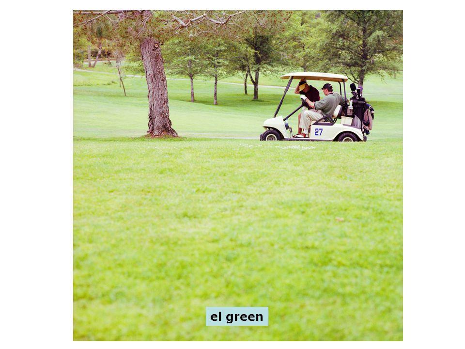 el green