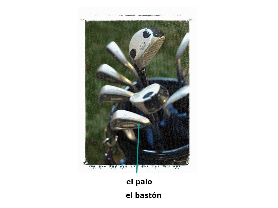 el palo el bastón