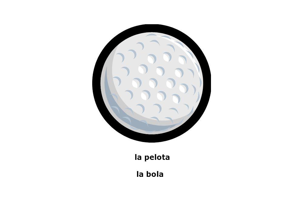 la pelota la bola