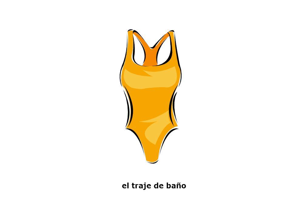 el traje de baño