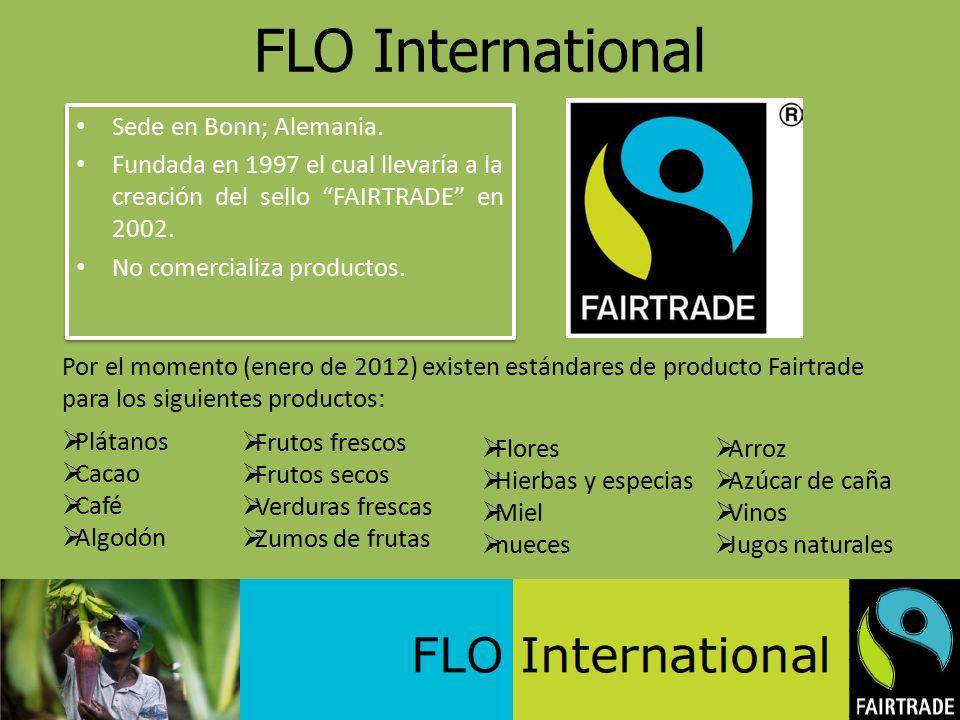FLO International Sede en Bonn; Alemania.