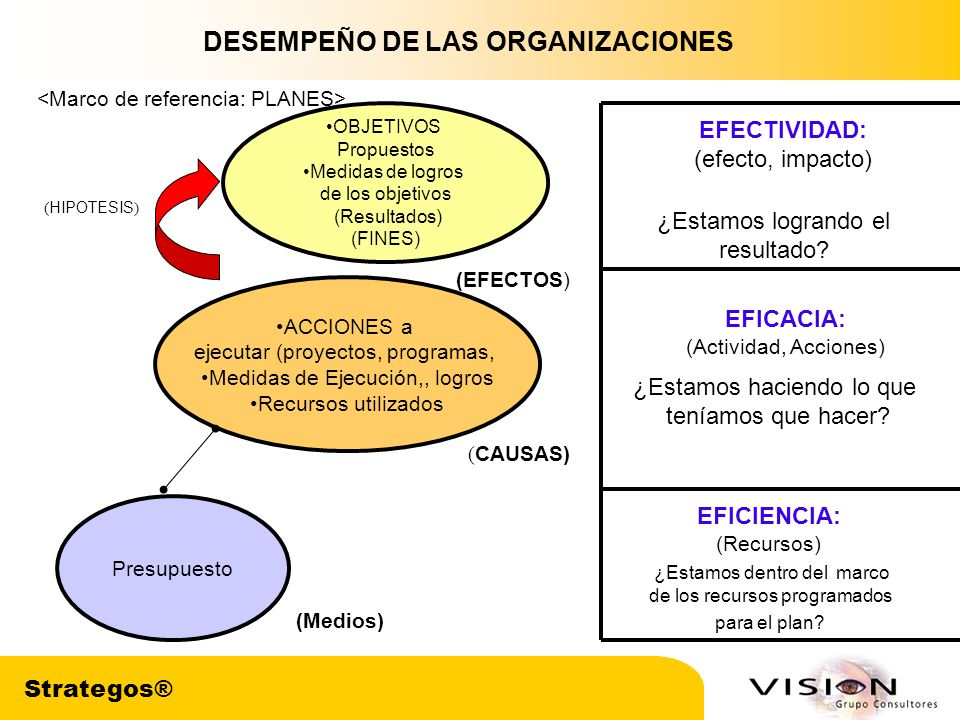 DESEMPEÑO DE LAS ORGANIZACIONES