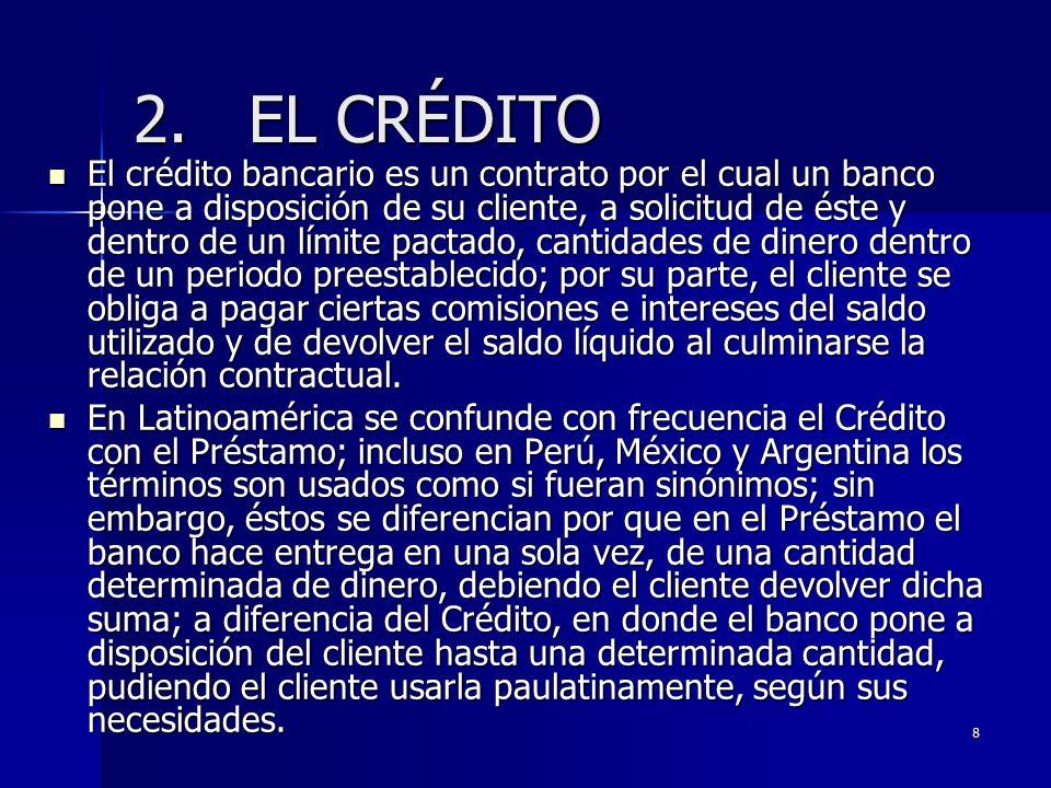 2. EL CRÉDITO