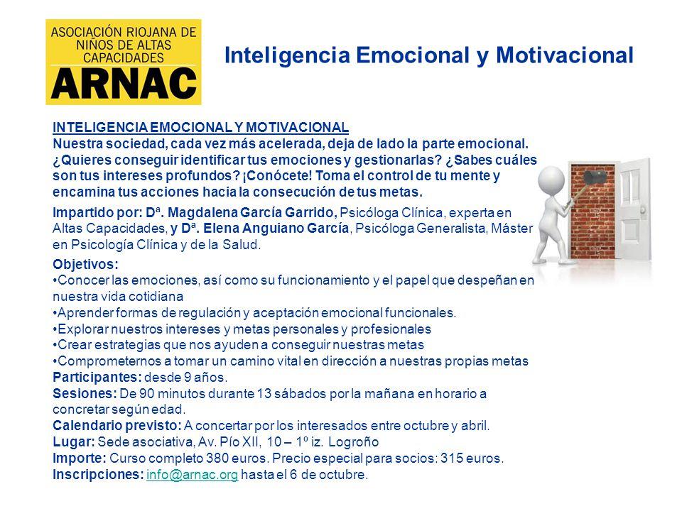 Inteligencia Emocional y Motivacional