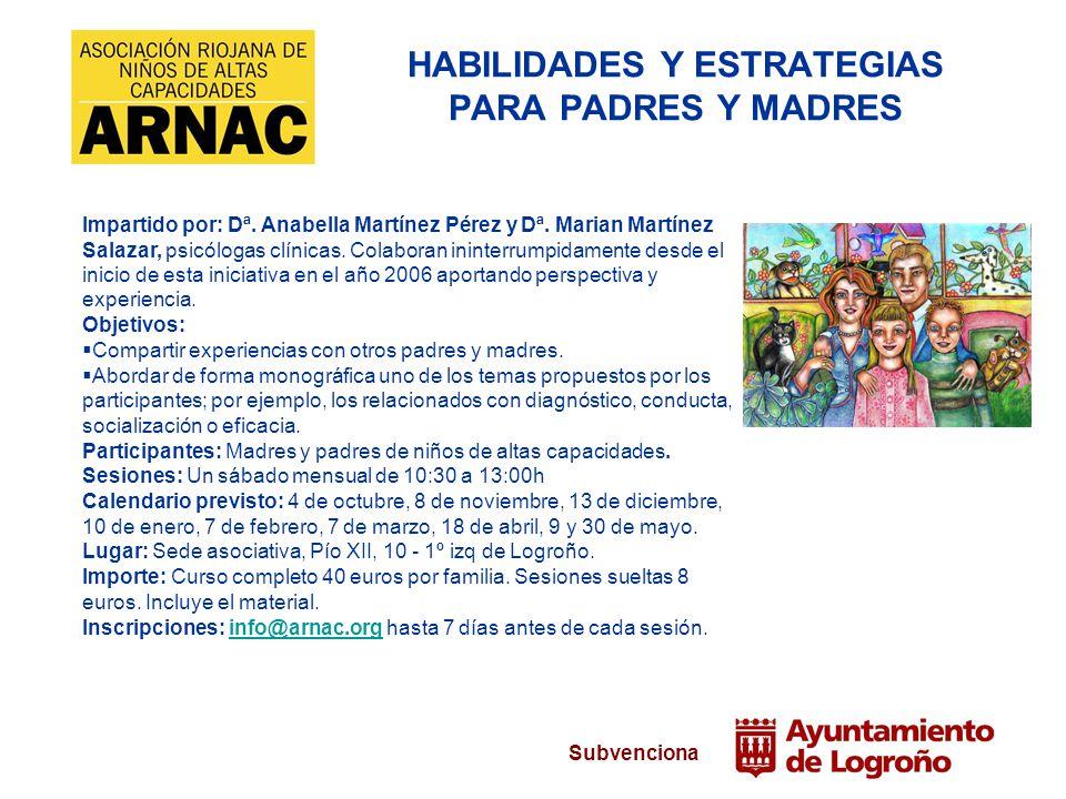 HABILIDADES Y ESTRATEGIAS PARA PADRES Y MADRES
