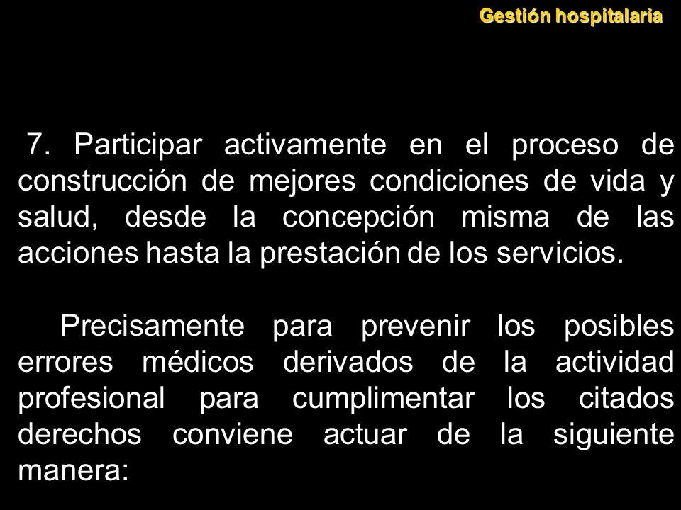 Gestión hospitalaria
