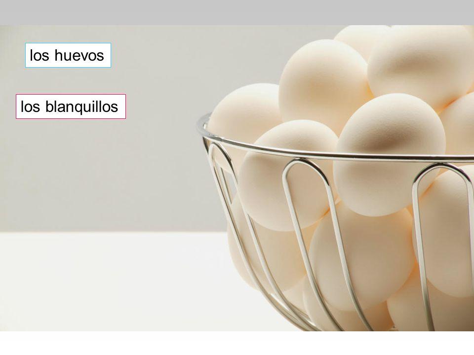 los huevos los blanquillos