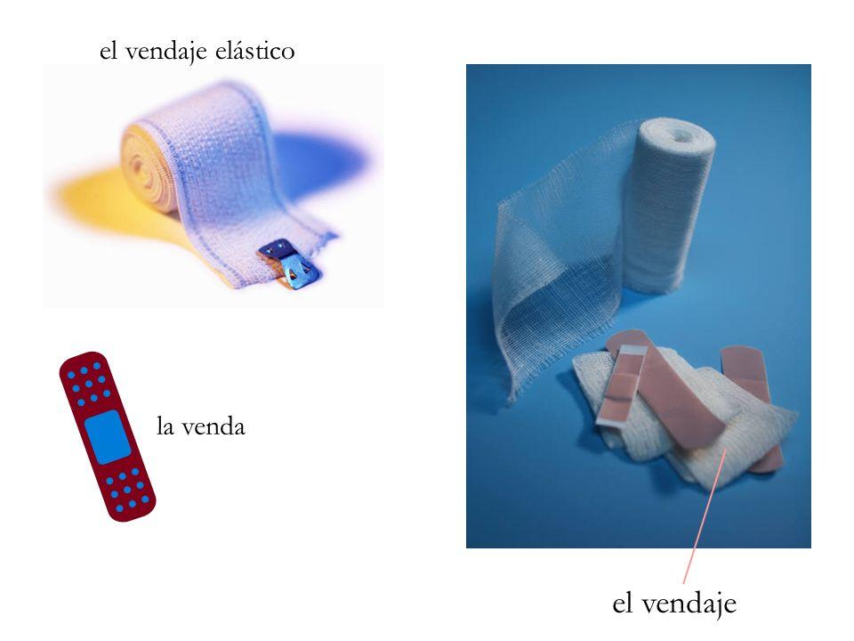 el vendaje elástico la venda el vendaje