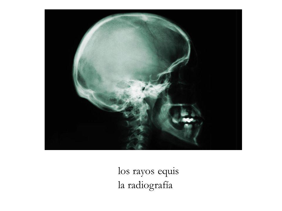 los rayos equis la radiografía