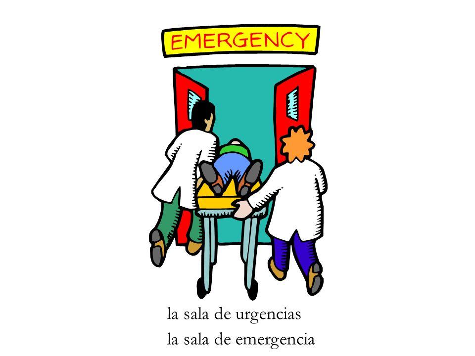 la sala de urgencias la sala de emergencia