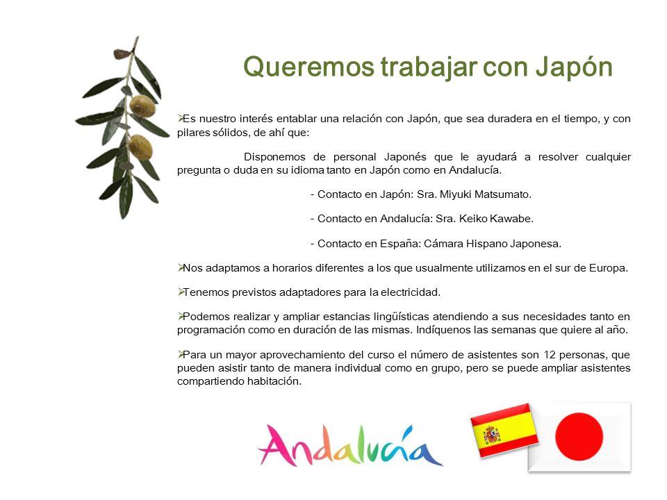 Queremos trabajar con Japón