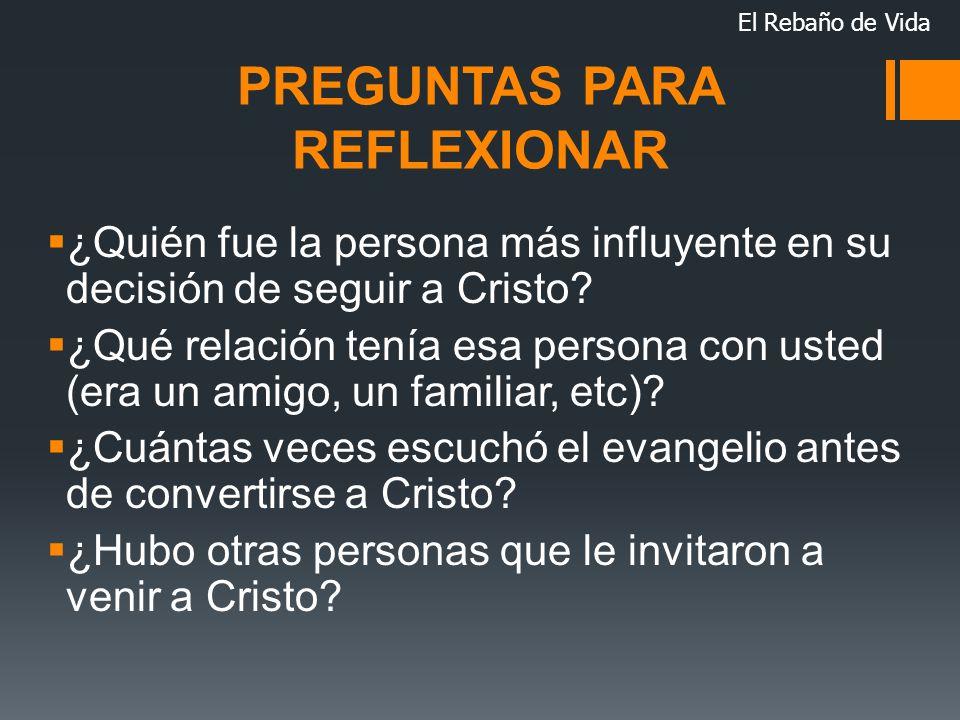 PREGUNTAS PARA REFLEXIONAR