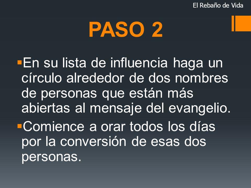 El Rebaño de Vida PASO 2.