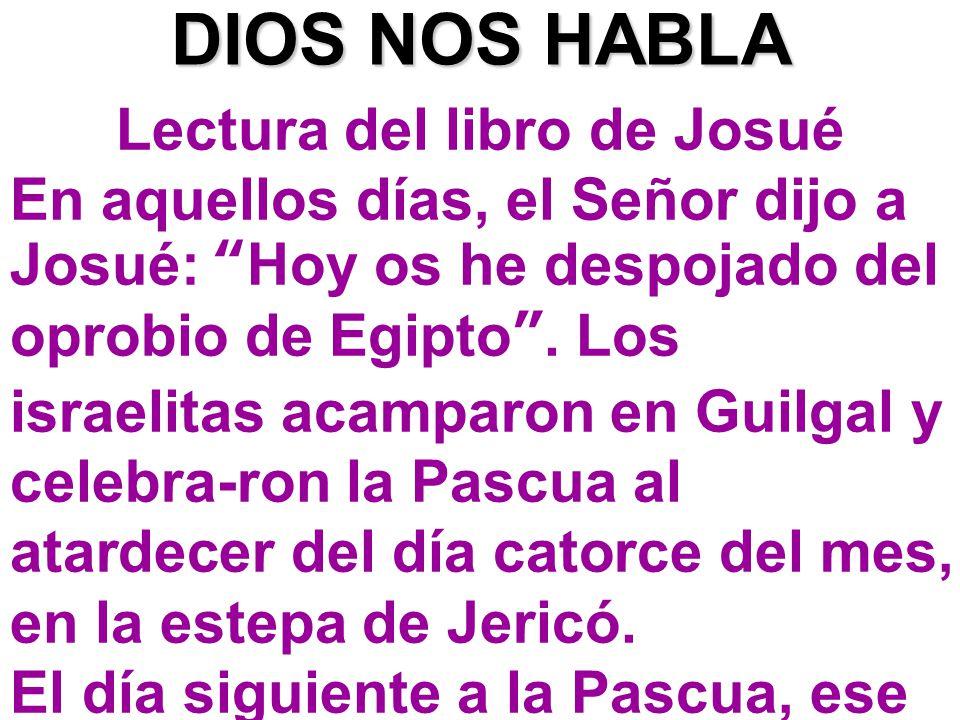 Lectura del libro de Josué