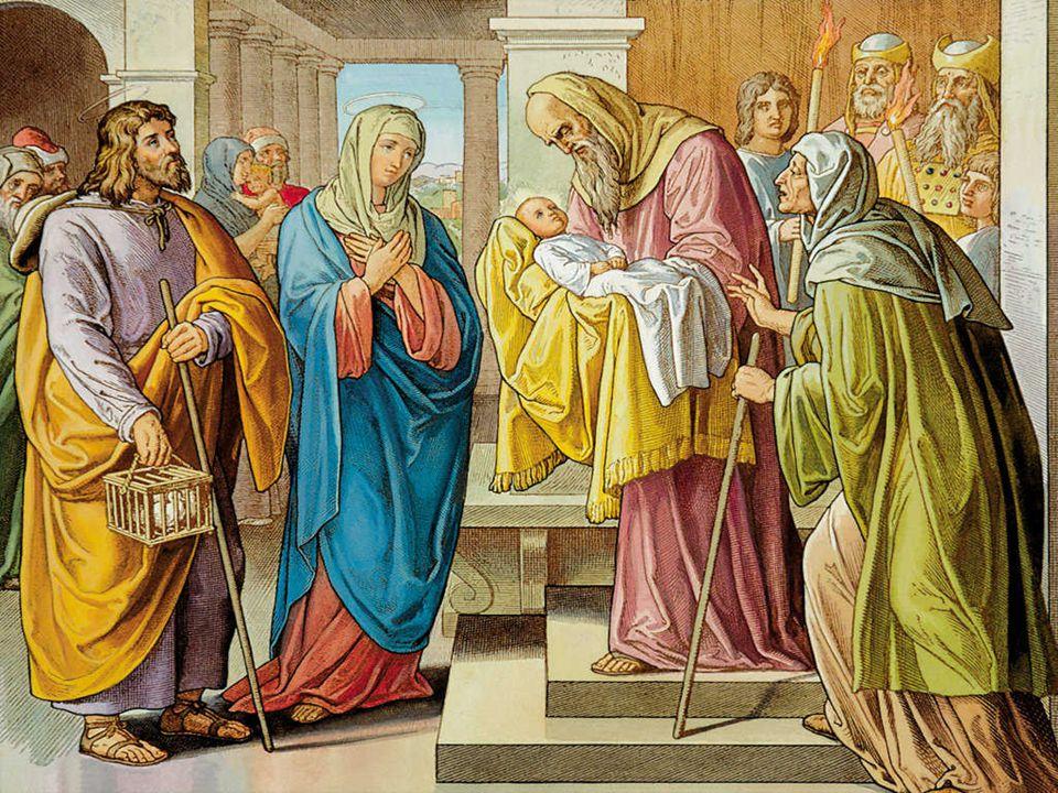 En el Evangelio Jesús entra por primera vez en el templo