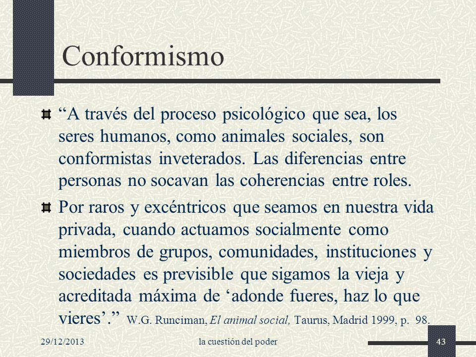 Conformismo