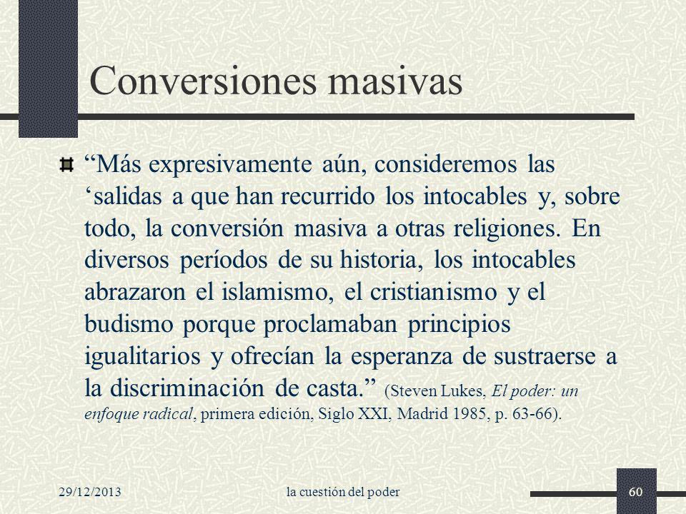 Conversiones masivas